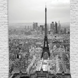 Tapestry Paris City View Wall Hanging Backdrop